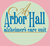Arbor Hall Alzheimer's Care Unit Button
